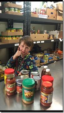 I7 Hills Community Pantry Warkworth Birthday Donations