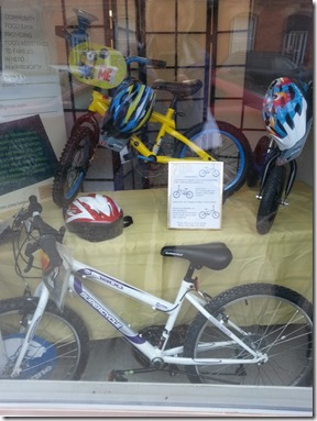 7 Hills Community Pantry Warkworth Bicycle Raffle